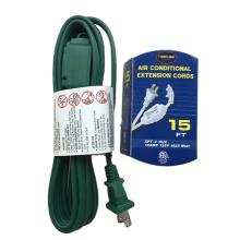 12/15 Ft. Extension Cord - 16/2 Gauge - SPT-2- green