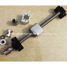 80mm принимая стальной шариковинтовой подшипник Sfu8010-6