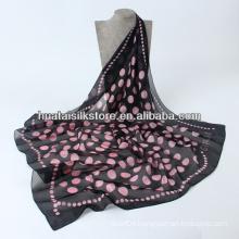 New 2014 Spring Dots Printing Silk Scarf