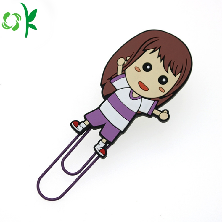 Multicolor Silicone Bookmark
