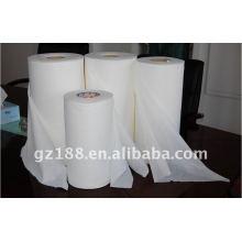 Spunlace não tecido da malha, tela não tecida para limpezas molhadas