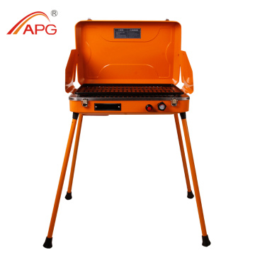 Windproof camping portable protane,butane gas BBQ grill
