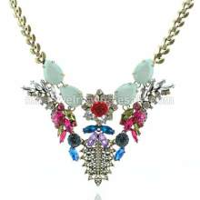 Ancient Skeleton Flower Charming Necklace Pro Women