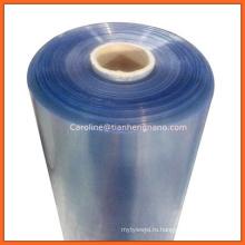 Лист PVC качества еды /роллы жесткая пленка ПВХ/ прозрачный ПВХ лист