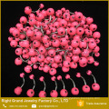 316L Surgical Steel Fake Belly Ring Stars Printed Balls Flat Navel Belly Rings Piercing
