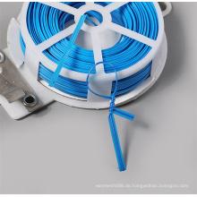 30M Kunststoff Twist Bindedraht mit Cutter