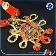 printing Gold Metal Decorative Medallions(m-31)