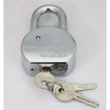 Cadeado redondo de aço com chaves planas