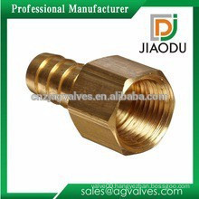 DN10 or DN 15 no lead yellow brass color female thread brass npt reducing nipple