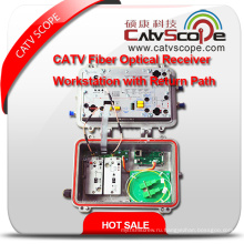 Высокопроизводительная модульная конструкция Оптическая рабочая станция CATV / рабочая станция Rfog