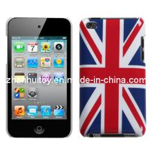 UK-Flaggen-glatte Plastikharte Haut-Kasten-Abdeckung für iPhone