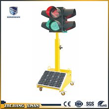 red green and yellow colors push signal light