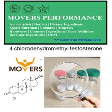 Steriods oraux: 4 Chlorodehydromethyl Testosterone