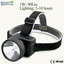 Rechargeable LED Headlight, Head Lamp, LED Flash Light, LED Spotlight, Outdoor Lighting, Bicycle Light, Miner′s Lamp