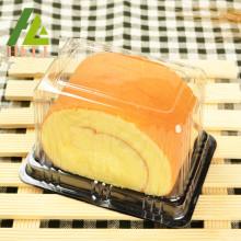 Boîtes à gâteaux en plastique rectangulaires jetables
