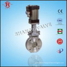 Stainless Steel Pneumatic knife gate valve ul fm