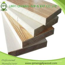 17mm Melamin Papier Gesicht Block Board Sperrholz für Möbel
