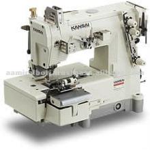 Kansai BLX Series, 2-Needle Bottom Cover Stitch Belt loop Making Machine