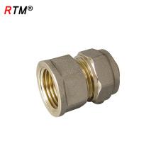 Encaixe de bronze de B 4 8, encaixe de compressão da tubulação de bronze