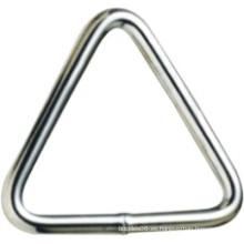 Hardware Metal Acero inoxidable soldado Tringle anillo