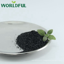 viscosité réducteur huile forage sodium humate brillant flocon avec de l'acide humique supérieur