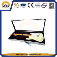 Estojo de guitarra de alumínio para exposição de alta qualidade