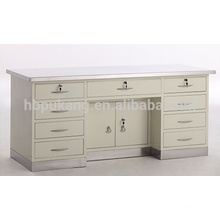 Table de travail avec surface en acier inoxydable et lavabo inférieur G-5