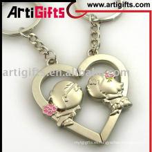 Llavero de latón en forma de corazón AG-G10KC-63 2012