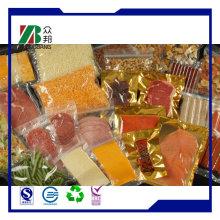 Пластмассовая вакуумная упаковка Мясо Вакуумная упаковка Мешок Продукты питания Овощной плод