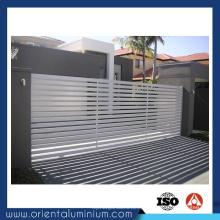 Portões deslizantes de alumínio para a porta principal Home