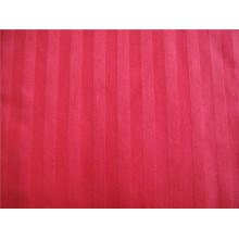 Tissu 100% coton teint en fil avec rayure pour textile à la maison