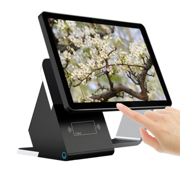 17-Zoll-Dual-Screen-Registrierkasse pos System