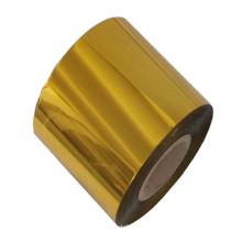 Película base de lámina de estampado en caliente de oro de un solo lado