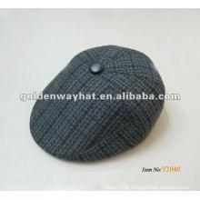 Outono e inverno chapéus legal da hera dos homens