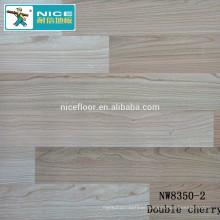 NWseries Double cherry Parquet wood flooring HDF core Parquet Flooring