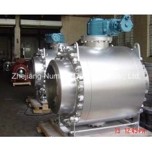 CE 3 PCS Carbon Steel Trunnion Mounted Ball Valve (Q47H)