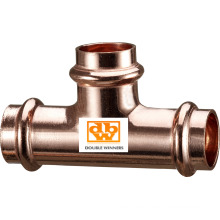 Copper V Profile Tee - Reduced Branch
