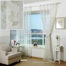 Fábrica diretamente fornecer cortinas baratas cortina tecido voile