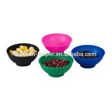 100% Food grade silicone min kitchen silicone bowl
