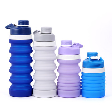 I-Leak Proof Silicone Bottle Wamanzi | I-Collapsible Water Bottle