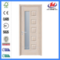 *JHK-010 6 Panel Wood Doors Double Wooden Doors Latest Veneer Door Designs