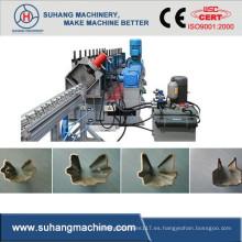 Esfuerzo de acero galvanizado por transmisión de cadena 1.5-2mm Poste de madera laminado en frío