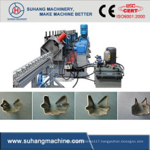 Chain Drive Galvanized Steel Thickness 1.5-2mm Vineyard Post Cold Roll Forming Machine