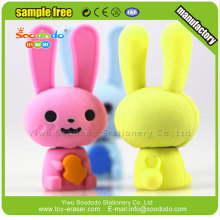 Soododo 3D bon MARCHÉ papeterie lapin forme Eraser