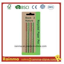 Color Paper Logo Pen for Advertising Pen Gift