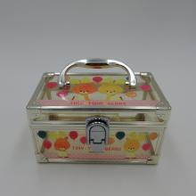 new design plastic boxes organizer for girl