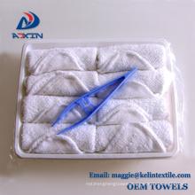 Custom Promotional 100% Cotton Refresh Hot Aviation Towel / Airplane Towel / Airline Towel Custom Promotional 100% Cotton Refresh Hot Aviation Towel / Airplane Towel / Airline Towel