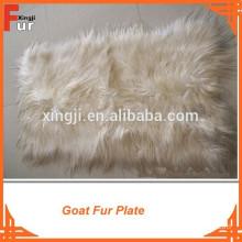 Straight Hair Goat Fur Plate