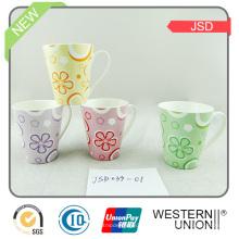 Keramik / Porzellan Geschenkbecher mit Kaffee Design