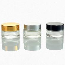 Bocal en verre à couvercle en aluminium (NBG18)